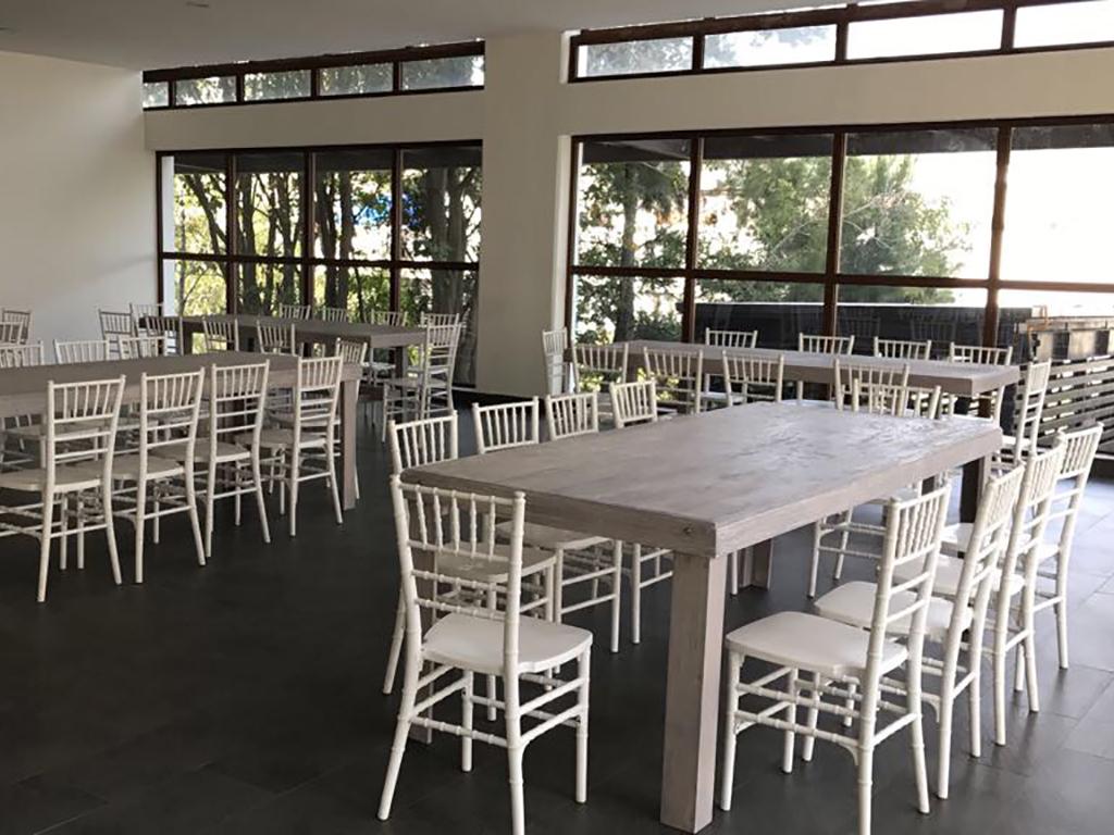 Mesas con Sillas Tiffany